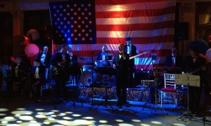 Yves and his big band at The Great Gatsby themed July 4th party on LI!