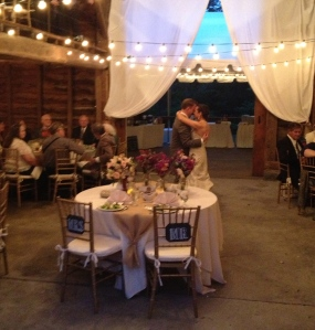 Jennifer and Blah Blah share their first dance at A Private Estate in Germantown, NY.