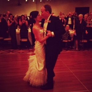 Ann and Matt's first dance at The Saratoga National in Saratoga Springs.