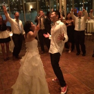 Bianca and Lyncean danced the night away!